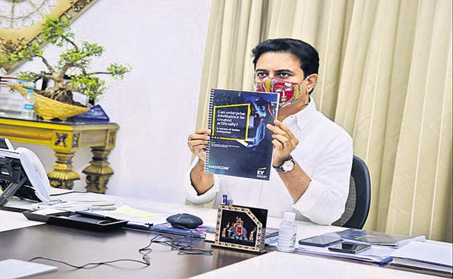 KTR Says That Innovative changes with technology itself  - Sakshi