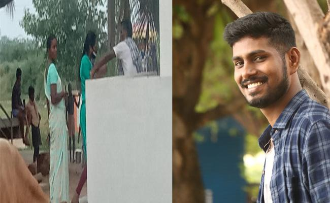 Navy Employee Cheating His wife In Srikakulam - Sakshi