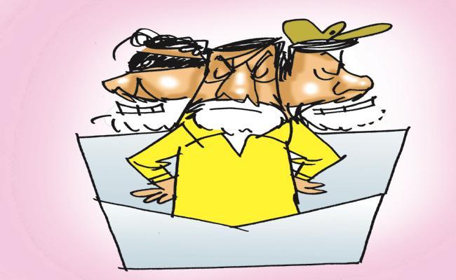 Dissatisfaction within the TDP itself On Chandrababu Cheap Politics - Sakshi