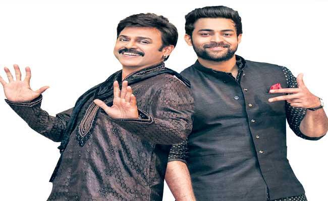 Victory Venkatesh And Varun Tej Doing F3 Movie - Sakshi