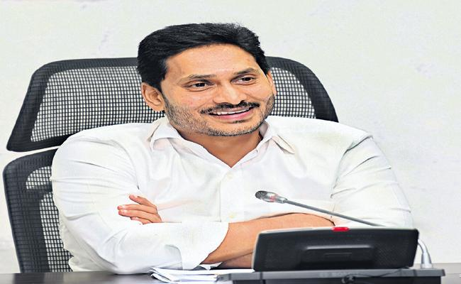 CM YS Jagan Spandana Meeting Video Conference With Collectors - Sakshi