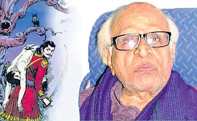 Chandamama Magazine Painter Shankar Passes Away - Sakshi