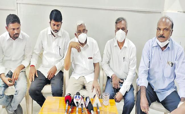 Kodandaram Comments On TRS Leaders - Sakshi