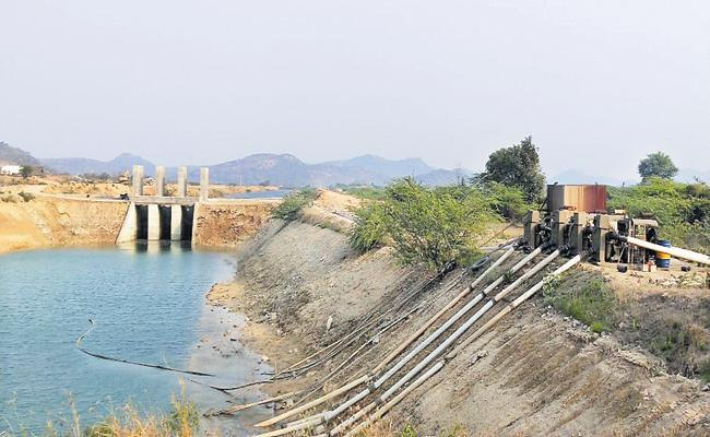 Lift irrigation with 80 motors - Sakshi