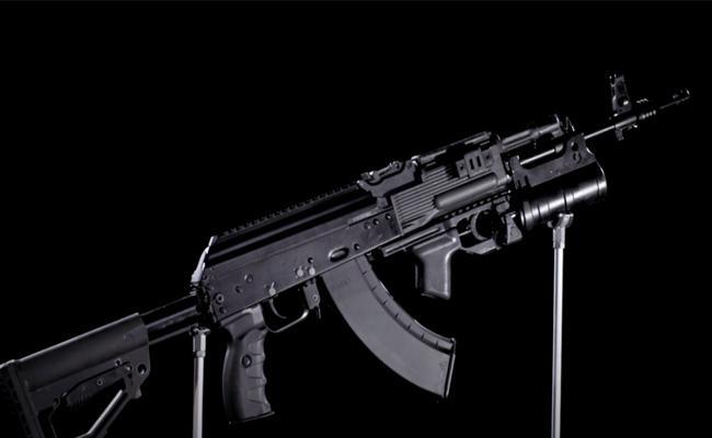 India Russia AK47 203 rifles manufacturing Make in India - Sakshi