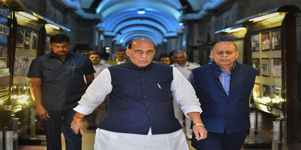 Rajnath Singh Says Peace Demands Trust in Sco Meet - Sakshi
