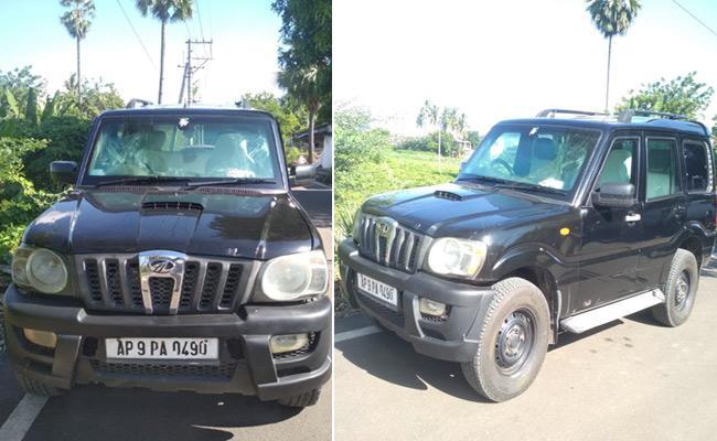 Minister Kurasala Kannababu gets bullet proof vehicle - Sakshi