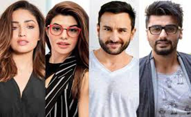 Jacqueline Fernandez and Yami Gautam Join the Cast of Bhoot Police - Sakshi