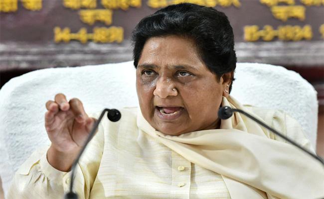 Mayawati Says Muslims Targeted On UP  - Sakshi