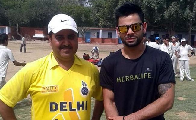 Virat Kohli Says He Is Grateful For Childhood Coach  - Sakshi