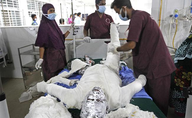 11 Died In Gas Pipeline Blast At Mosque In Bangladesh - Sakshi