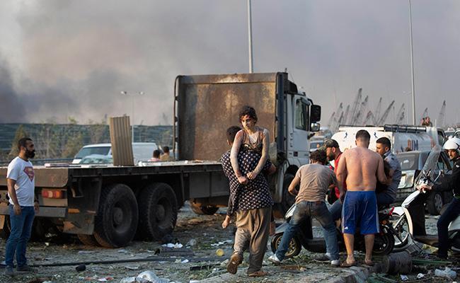 Beirut Blast No Sign Of Life After Search For Explosion Survivor - Sakshi