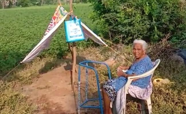 Son Suspicion To His Mother She Got Coronavirus In Warangal - Sakshi