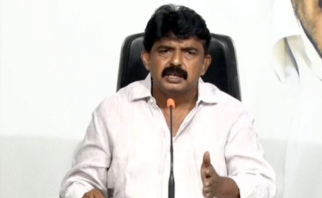 Minister Perni Nani Fires On Chandrababu - Sakshi