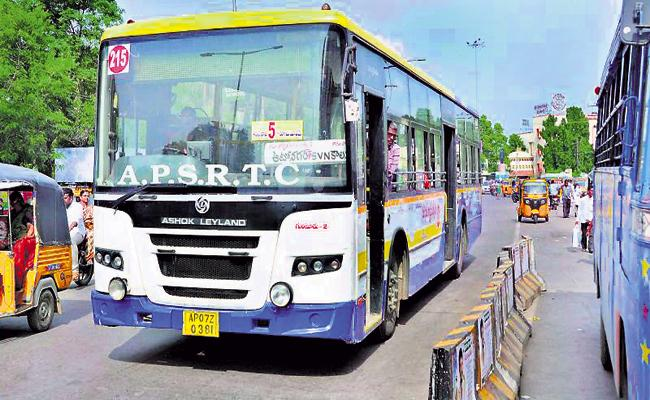 City buses On Roads When the Medical Department Approves - Sakshi