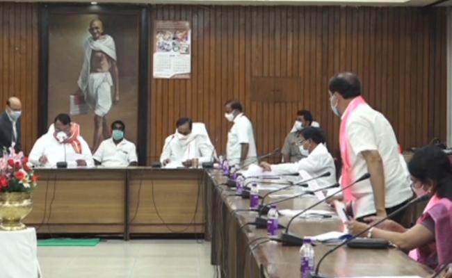 Telangana BAC Meeting Over Chaired By Speaker - Sakshi