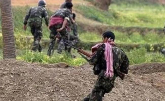 Encounter In Charla Mandal To Maoist Shootout - Sakshi