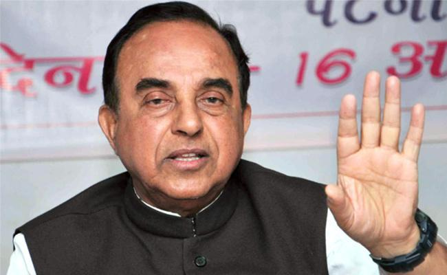 Subramanian Swamy Questions EAM Scheduled Meeting With China FM - Sakshi