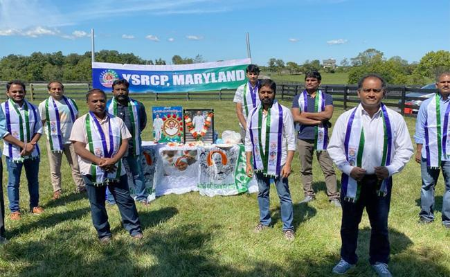 Tribute To YSR On 11th Death Anniversary In MAryland - Sakshi