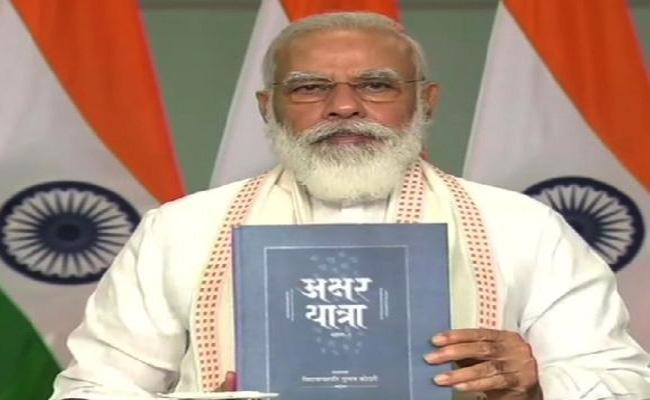 Narendra Modi Says Indian Media Must Go Global - Sakshi