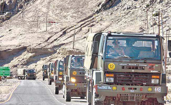 China Army Fired Shot Into Air At India China Border - Sakshi