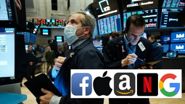 US Markets tumbles due to  huge selloff in FAANG shares - Sakshi