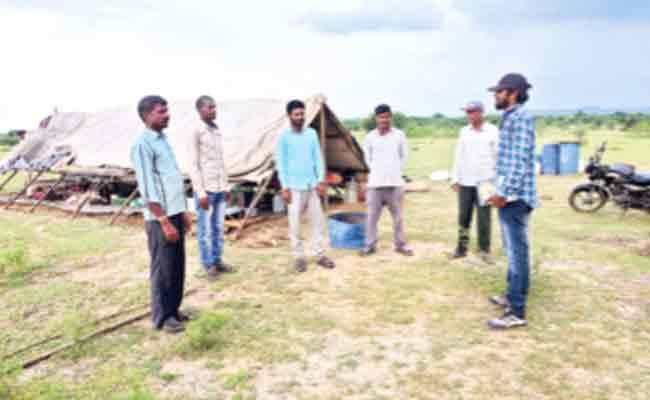 Collection Of Soil Samples For Airport Runway Formation Adilabad - Sakshi