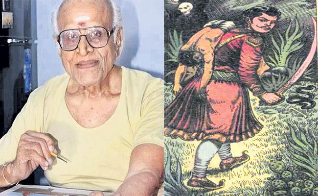 Tribute To Chandamama Magazine Painter Shankar - Sakshi