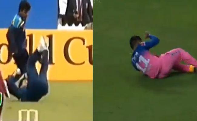 Sachin Tendulkar Reacts On Sanju Samson IPL Match Catch - Sakshi