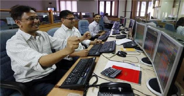 Sensex, Nifty jumps- All sectors in NSE green - Sakshi