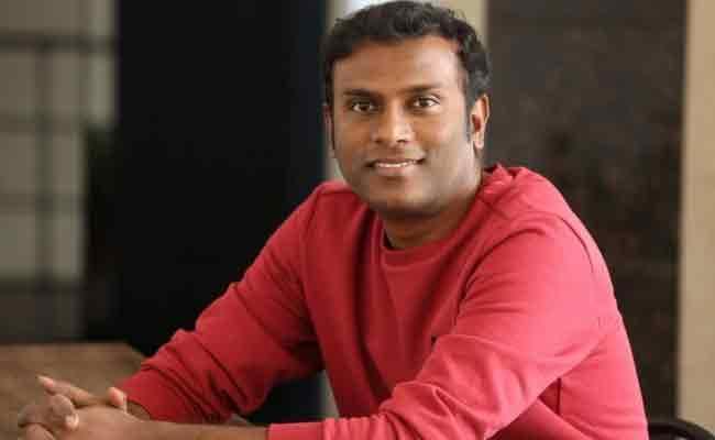 Anup Rubens Speak To Media Over Orey Bujjiga Music - Sakshi