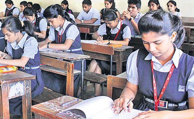 CBSE, CISCE Thinking Of Reducing Syllabus by 50 Percentage - Sakshi