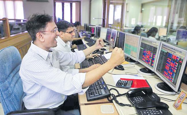 RBI is booster dose lifts Sensex by 326 points and Nifty ends at 11914 - Sakshi