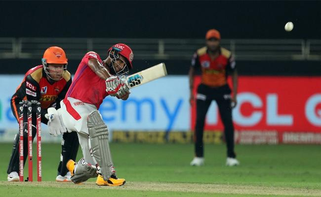 pooran hits three sixes which went above hundred meters - Sakshi