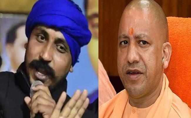 Bhim Army Chief Challenges CM Yogi To Prove 100 Crore Fund Claims - Sakshi