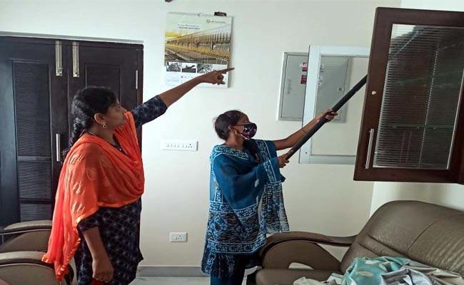 Housekeeping Is Self Employment In Khammam Women Youth - Sakshi