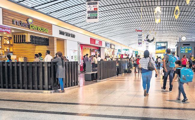 Shamshabad International Airport Gradually Increasing Passengers - Sakshi
