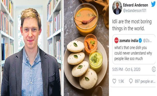 British Professor Calls Idley Is Boring Viral On Social Media - Sakshi