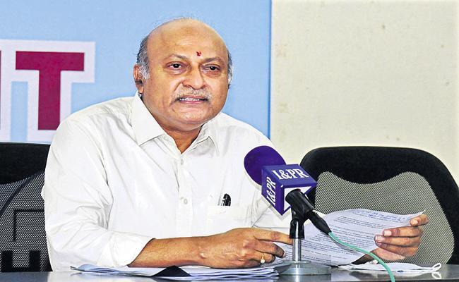 AP Principal Advisor Ajeya Kallam Press Meet In Vijayawada - Sakshi