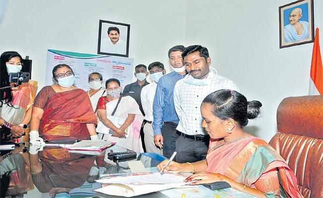 One Day Collector Programme In Anantapur - Sakshi