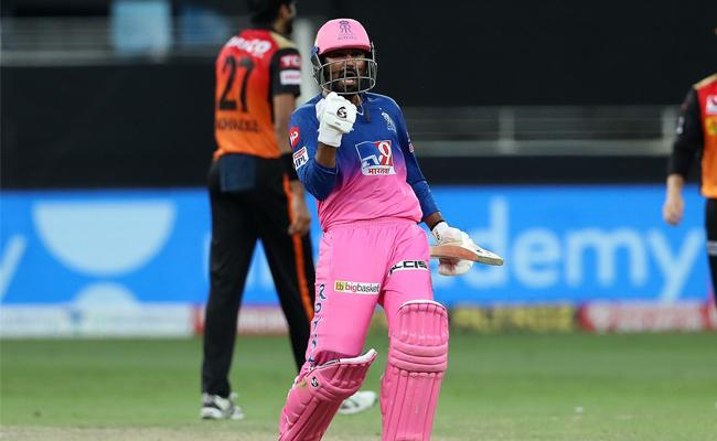 Rajasthan Royals beat Sunrisers Hyderabad by 5 wickets - Sakshi