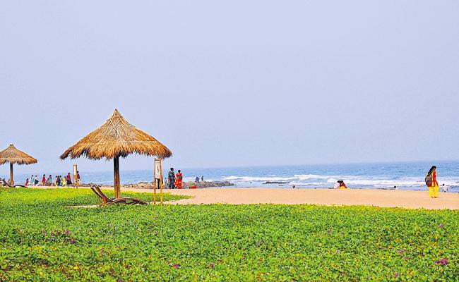 International Recognition To Rushikonda Beach - Sakshi