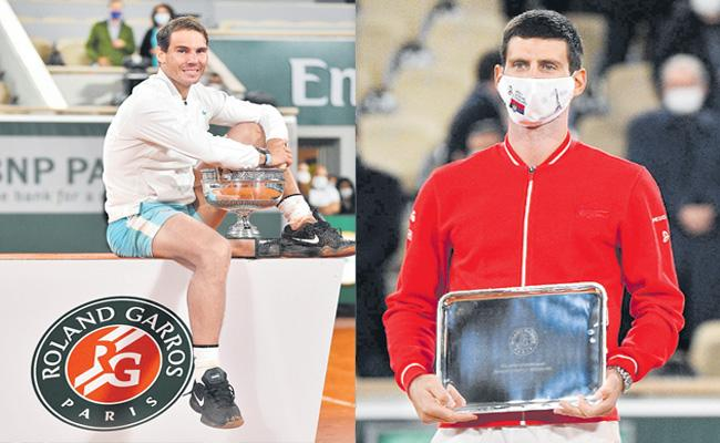 Rafael Nadal wins French Open to claim record-equalling 20th Grand Slam - Sakshi