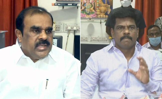Gorantla Madhav Advice To Horticulture Farmers To Use Kisan Rail - Sakshi