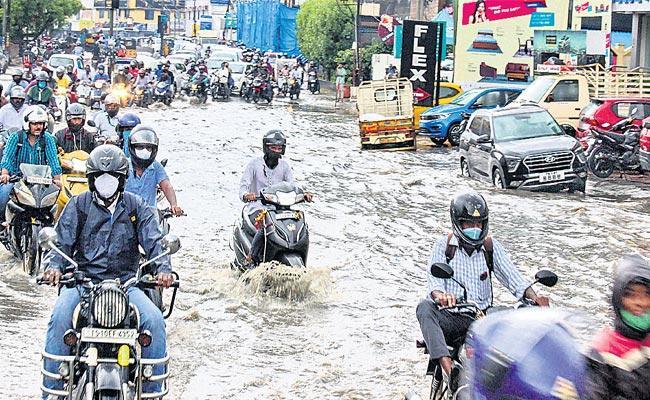 Heavy Rains In Telangana - Sakshi