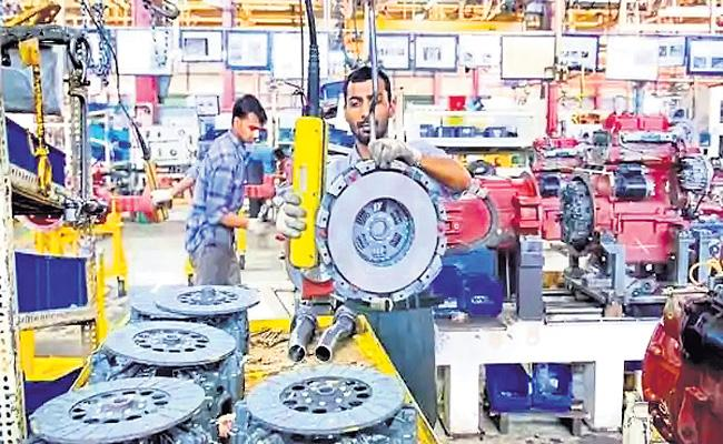 Industrial production declines by 8percent in August - Sakshi