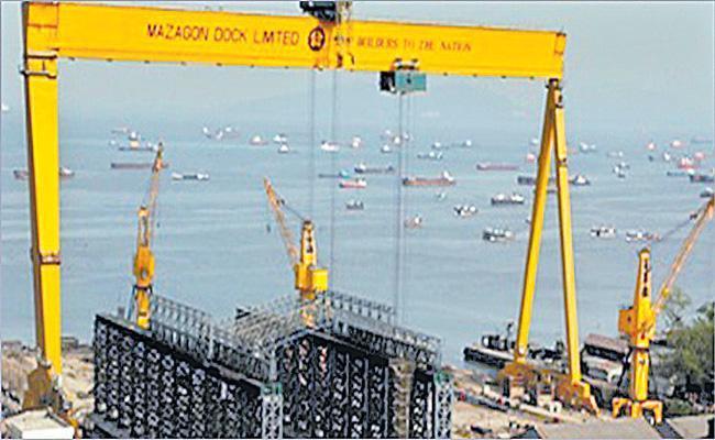 Mazagon Dock Shipbuilders shares list at a premium - Sakshi