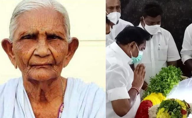 Tamil Nadu CM Edappadi Palaniswamis Mother Passes Away At 93 - Sakshi