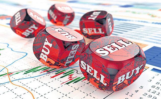 Sensex up 84 points and Nifty ends flat at 11,935 - Sakshi