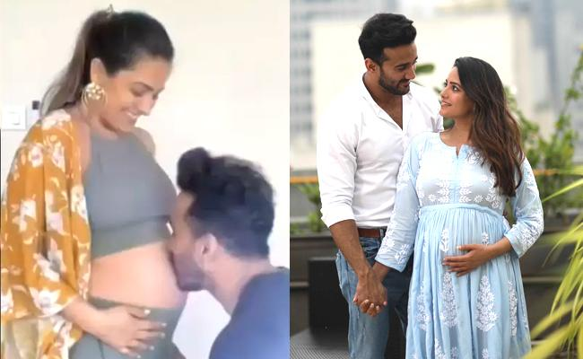 anita hassanandani reveals name of baby if she delivers a boy - Sakshi